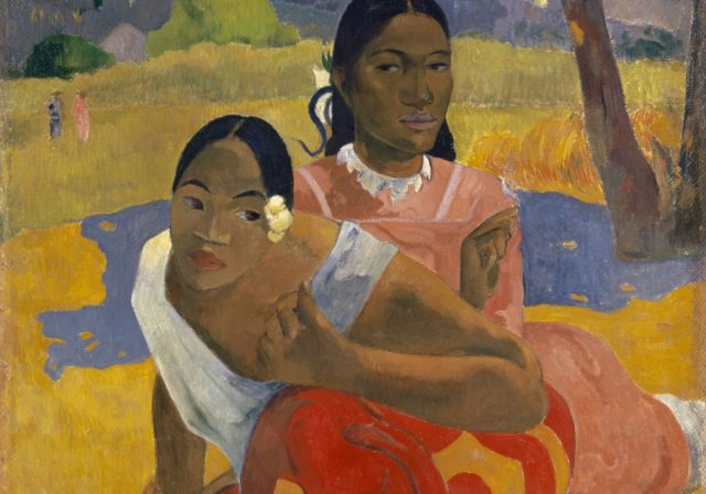 Clip of Gauguin When will you marry? painting