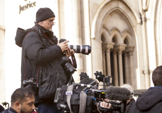 photographer cameras royal courts of justice